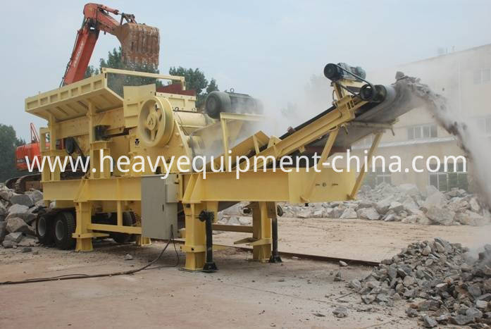 Portable Stone Crusher Plant