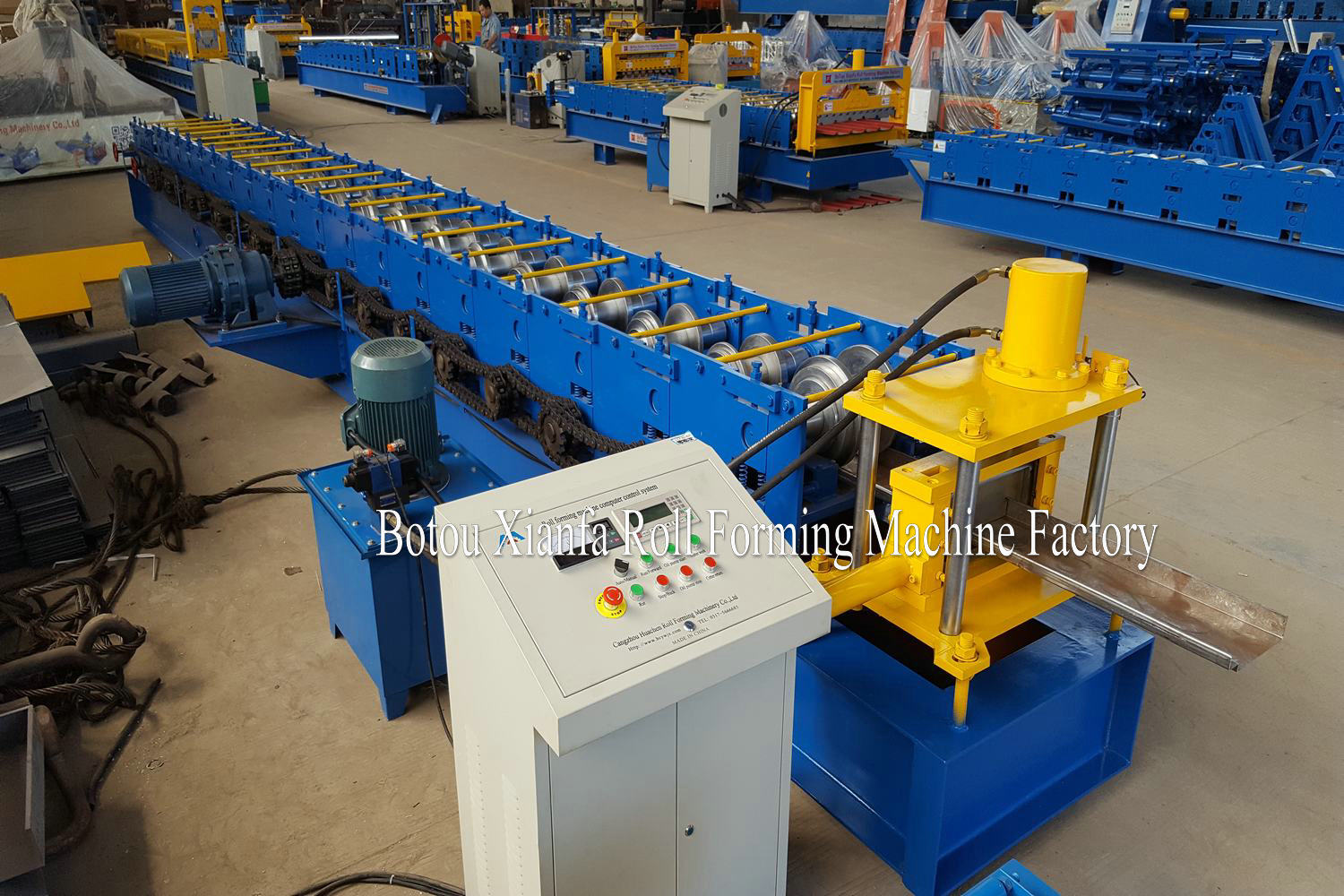 Embossing Door Frame Machine
