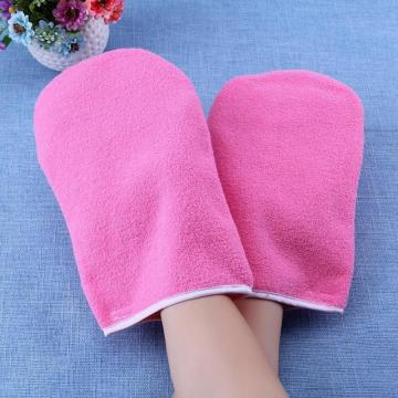 Heat Preservation Paraffin Hot Wax Hand Foot Protection Beauty Care Gloves Mini SPA Cotton Soft Comfort Protection Gloves