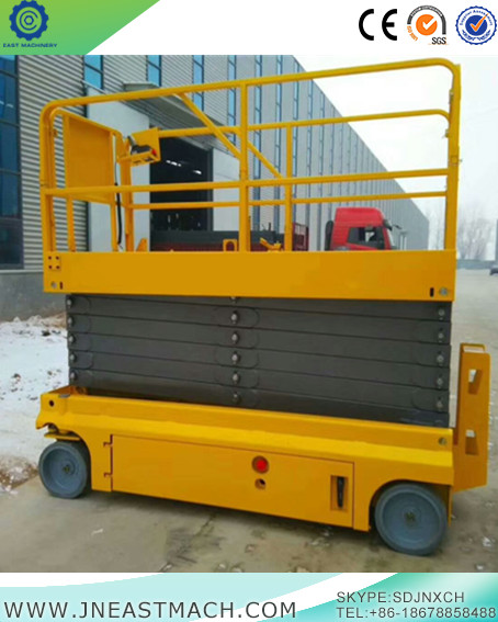 Skyscraping Tower 12m Self Propelled Electric Hydraulic Scissor Lift