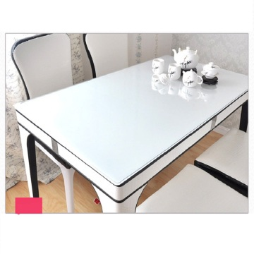 PVC waterproof cheap restaurant transparent table cloth