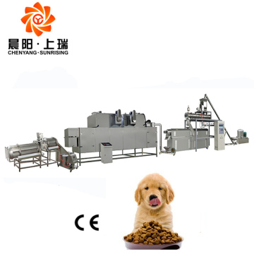 Dog feed machine line pet food extruder line