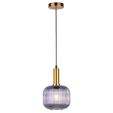 Modern glass chandelier creative restaurant  pendant