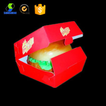 Carboard burger box KFC box