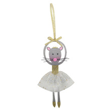 Christmas dancing rat hanging ornaments