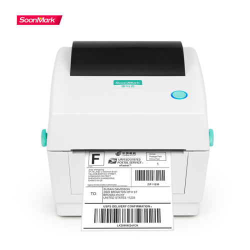 USB 203Dpi barcode postage shipping label printer