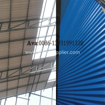 Ecological Anti-Moss Heat-proof MgO Corrugated Roofing Sheet