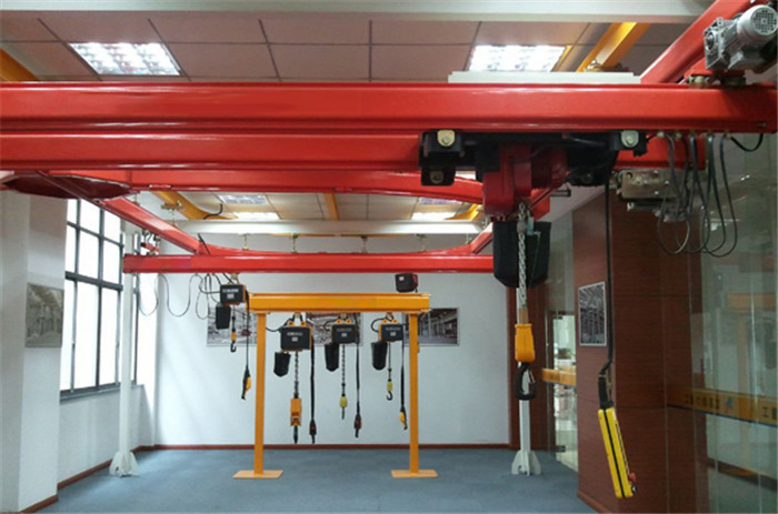 double beam flexible kbk crane