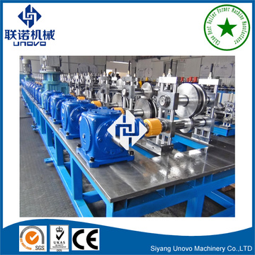 Heavy duty metal shelf rack roll forming machine