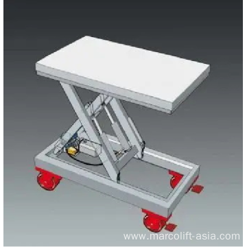 Trolley frame with wheels