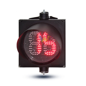 intergrated 2 Digits 400mm countdown timer traffic light