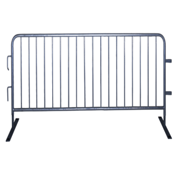 Galvanized Temporary Crowd Control Traffic Barrier For Sale