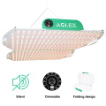Dimmable Round edge LED Grow Light 360w Foldable