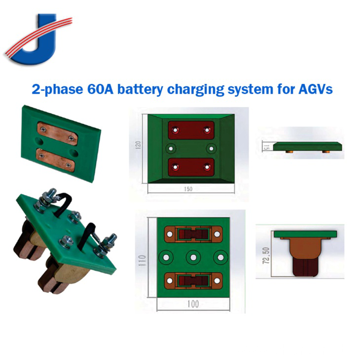 2 Phase 60A System Battery Charging Contacts