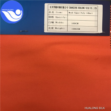 Fabric Polyester Super Poly for Clothing