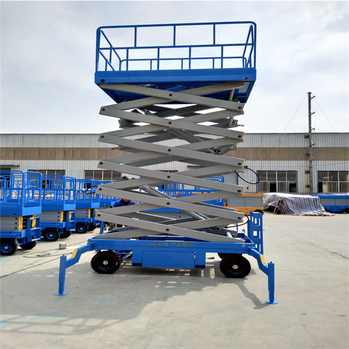 hydraulic table lifting mechanism