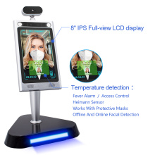 3d Face Recognition Camera Barrier Attendance Access Controller