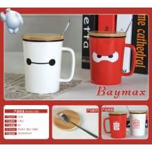 Ceramics Baymax Face Coffee Mug
