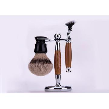 shaving mug and brush gift set