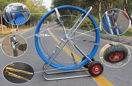 Portable Fiberglass Duct Rodder