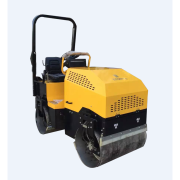 High efficiency diesel roller compactor with EPA