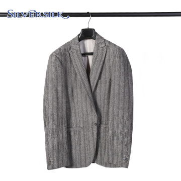 Wool Polyester Formal Worsted Suits for Men