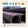 black painted/varnished oil gas pipeline seamless pipe tube