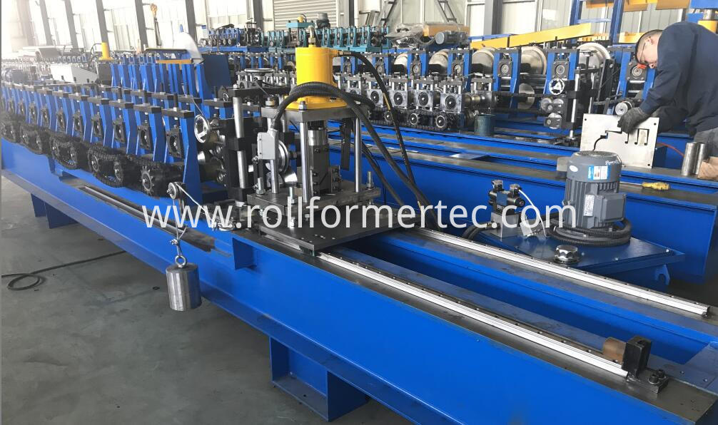 custom made J profile rollforming line (1)