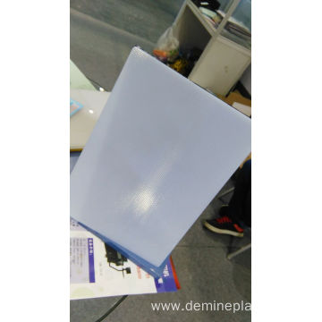 Advertising board lighting prism plastic sheet