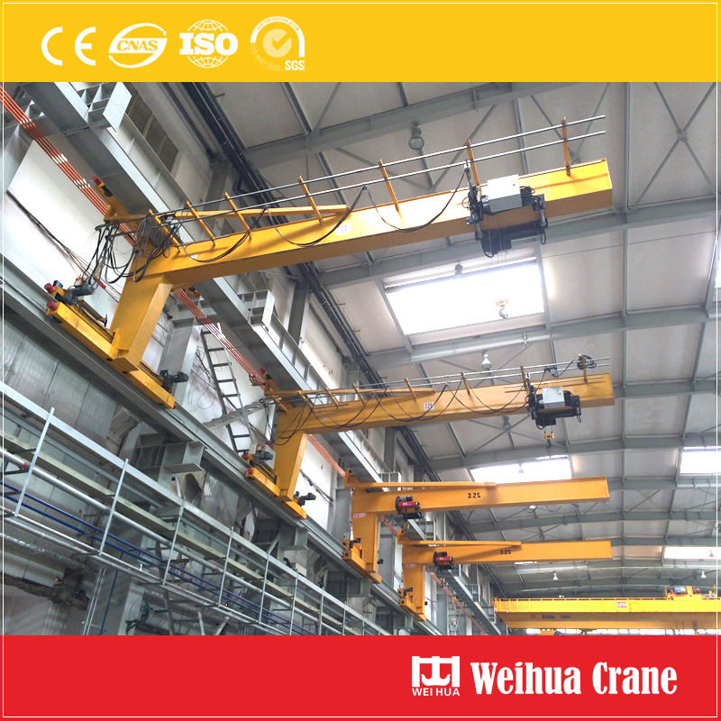 Wall Rail Travel Crane