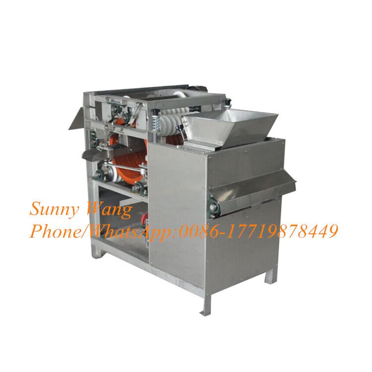 300kg/h Broad Bean Peeler Machine Black Gram Black Skin Peeling Machine