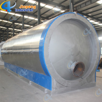 Waste Tires Oil Purifying Distillation Plant