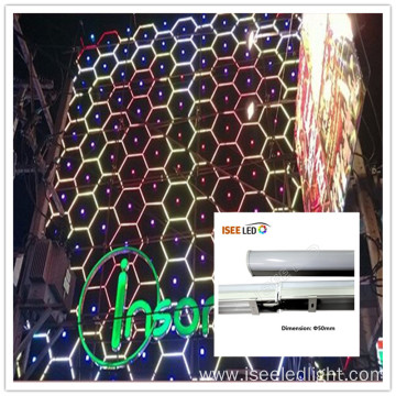 Wholesale RGB led tube dmx for wall building