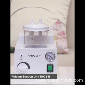portable dental phlegm suction machine