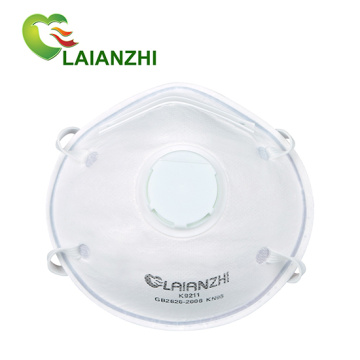 High Quality Cup-shape Disposable KN95 filtering valved mask