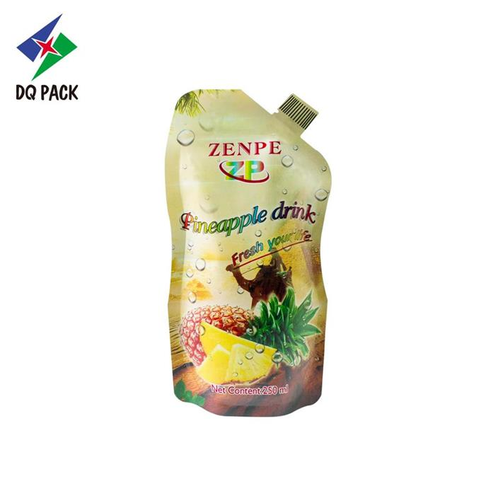 tand up spout pouch liquid packaging