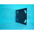 CD Cover CD Box CD case 10.4mm double square with black tray(YP-B202a)