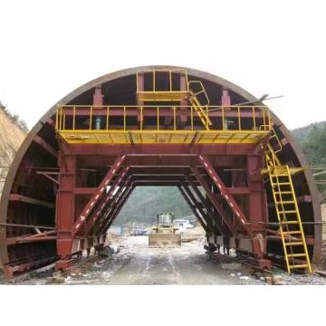 Tunnel Construction Concrete Lining Trolley Steel Formwork