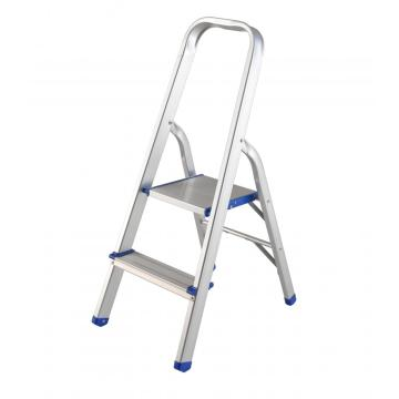Lightweight aluminum 2 step ladder