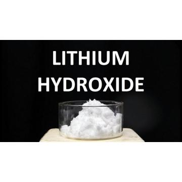 lithium hydroxide dissolved in water equation