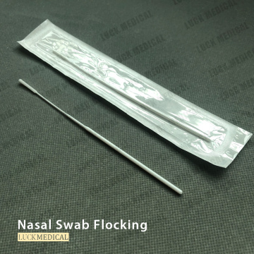 Disposable Diagnostic Testing Swab Rayon Flocking