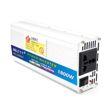 1800W 12V24VDC to 110V220VAC Modified Sine Wave Inverter