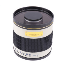 500mm F6.3 Manual Focus Telephoto Mirror Lens + T2 Mount Adapter Ring for Canon EF EOS DSLR Camera