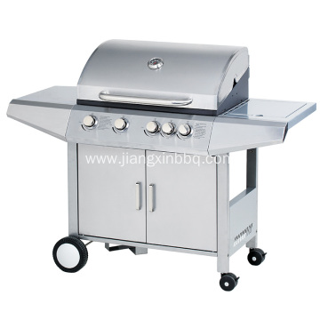 4 Burners Stainless Steel Gas BBQ Grill