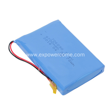 Sophisticated Technology 706090 7.4V 4700mAh Lipo Battery