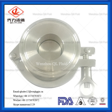 Stainless Steel Sanitary Tri Clamped Check Valve