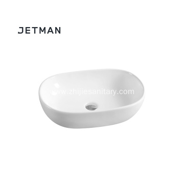 Vanity top bathroom  oval wash basin