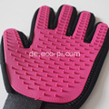Pet Supplies Benutzerdefinierte weiche Pet Hair Remover Handschuhe