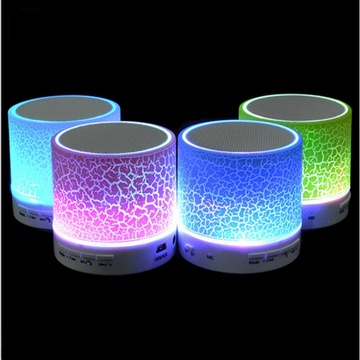 LED Mini Bluetooth Speaker wireless speakers Portable Music Sound Box Subwoofer with Mic Support TF Card for IPhone Xiaomi