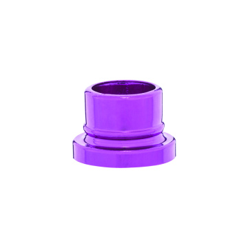 Large edge aluminium collar for perfume crimp pump